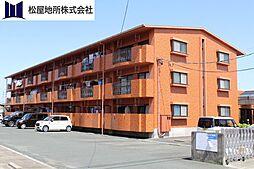 愛知県豊橋市東幸町字東明の賃貸アパートの外観