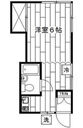 すずき荘[101号室]の間取り