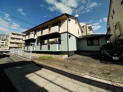 兵庫県神戸市灘区泉通5丁目の賃貸アパートの外観