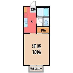 モンブラン[2階]の間取り