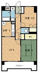 セントエミネンス[2階]の間取り