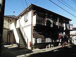 千葉県流山市松ケ丘1の賃貸アパートの外観