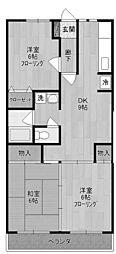 ラフォーレ5[3階]の間取り