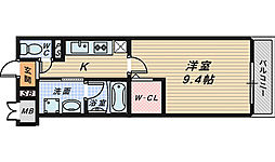 オリエンタルヴィラ[2階]の間取り