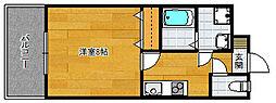 孝栄ビル[3階]の間取り