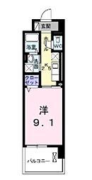 岡山県倉敷市老松町2丁目の賃貸マンションの間取り
