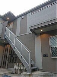 神奈川県川崎市高津区久本2丁目の賃貸アパートの外観