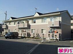 愛知県蒲郡市竹谷町七反の賃貸アパートの外観