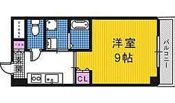 モントハイム[3階]の間取り
