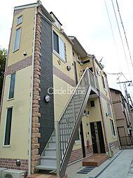 ユナイト安善パラティーノの杜[2階]の外観