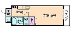 曽根コート[8階]の間取り