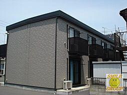 千葉県市川市湊の賃貸アパートの外観