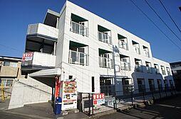 東京都調布市多摩川4丁目の賃貸マンションの外観