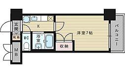 ローズコーポ新大阪9[3階]の間取り