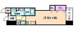 エスポルテ福島[4階]の間取り
