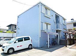 大阪府豊中市上野東3丁目の賃貸アパートの外観