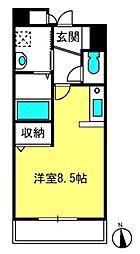 メゾン・プレ・パルクII[103号室]の間取り