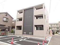 埼玉県さいたま市見沼区大字南中野の賃貸アパートの外観