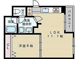 チアリ小松[3階]の間取り