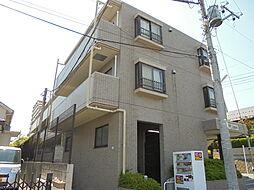 東京都八王子市めじろ台2丁目の賃貸マンションの外観