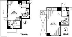 東京都目黒区平町2丁目の賃貸マンションの間取り