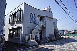 栃木県下都賀郡壬生町おもちゃのまち1丁目の賃貸アパートの外観