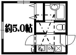 ブーローニュ上大岡[2階]の間取り