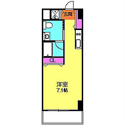 プレシャス青葉台[4階]の間取り