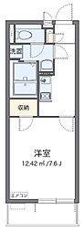 近鉄大阪線 近鉄八尾駅 徒歩7分の賃貸アパート 1階1Kの間取り