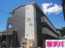 愛知県岡崎市門前町の賃貸アパートの外観