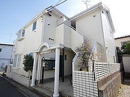 神奈川県厚木市妻田東3丁目の賃貸アパートの外観