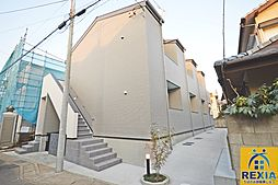 千葉県千葉市花見川区朝日ケ丘4丁目の賃貸アパートの外観