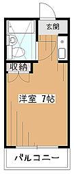 コーポ美園[2階]の間取り