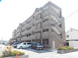 滋賀県栗東市小平井3丁目の賃貸マンションの外観