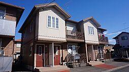 栃木県小山市大字土塔の賃貸アパートの外観