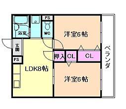 MAX2[3階]の間取り