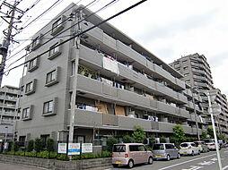 埼玉県狭山市新狭山2丁目の賃貸マンションの外観