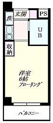 サライパーク[3階]の間取り