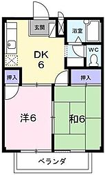 アネックス泉[2階]の間取り