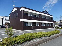 滋賀県高島市安曇川町中央1丁目の賃貸マンションの外観