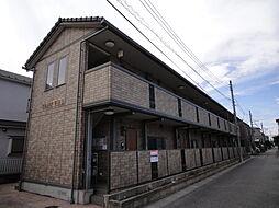 埼玉県草加市清門2丁目の賃貸アパートの外観