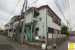 千葉県船橋市本中山3の賃貸アパートの外観
