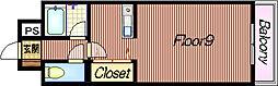アイビーフラット[309号室]の間取り