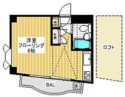 メゾンウェルストンIII[2階]の間取り