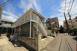 千葉県船橋市前原西3丁目の賃貸アパートの外観