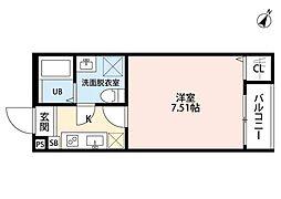 ネクストステージ宮原(ネクストステージミヤハラ)[1階]の間取り