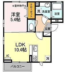 仮)D-room東小松川2丁目B棟[3階]の間取り