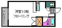 ヌーベルゾーン[205号室]の間取り