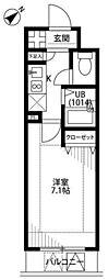 プレール日本橋三越前[9階]の間取り