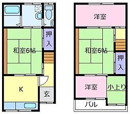 [一戸建] 大阪府堺市東区日置荘西町4丁 の賃貸【/】の間取り